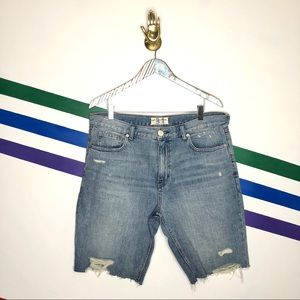 NEW We the Free Caroline cutoff denim shorts